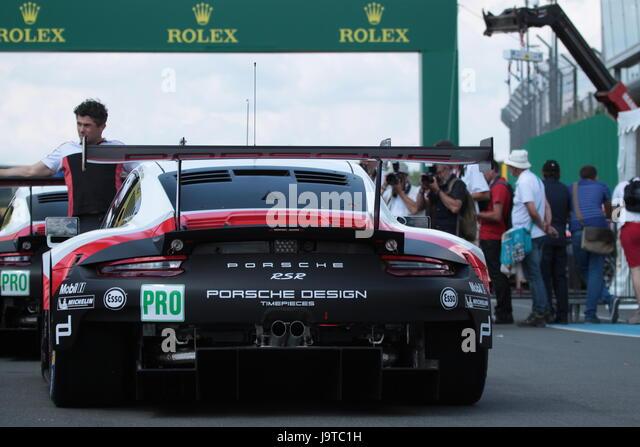Porsche 911 Rsr At Le Mans 24 Hours Stock Photos Porsche 911 Rsr