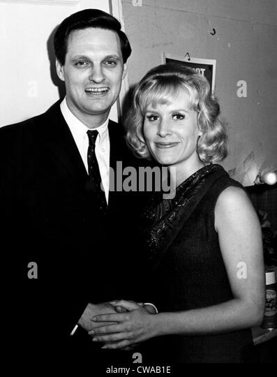 Alan Alda And Christina Crawford At The Premiere Of The Play The