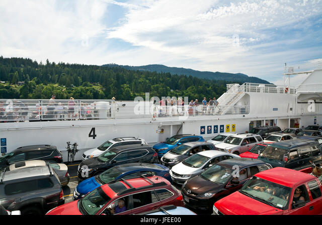 Ferry From Salt Spring Island To Horseshoe Bay