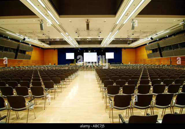 ICM International Congress Center Munic conference hall lecture hall ...