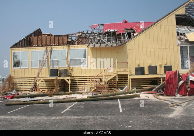 Gulf florida hurricane katrina stock photos gulf florida for Architectural concepts pensacola fl