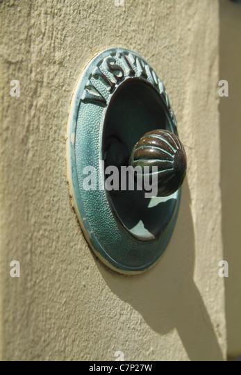 Brass Door Bell Pull Stock Photos & Brass Door Bell Pull Stock ...