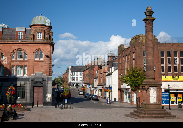 Dumfries Town Scotland Stock Photos Amp Dumfries Town
