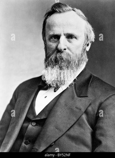 a biography of the 19th president of the united states rutherford b hayes Rutherford birchard hayes, 19th president of the united states  the heraldic badge of rutherford b hayes  president hayes based the design of his crest, or.
