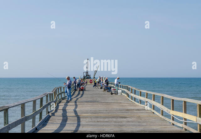 Bogue banks stock photos bogue banks stock images alamy for Atlantic city fishing pier