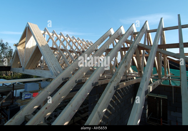 Prefabricated roofs prefabricated roofs railings and for Prefabricated wood trusses
