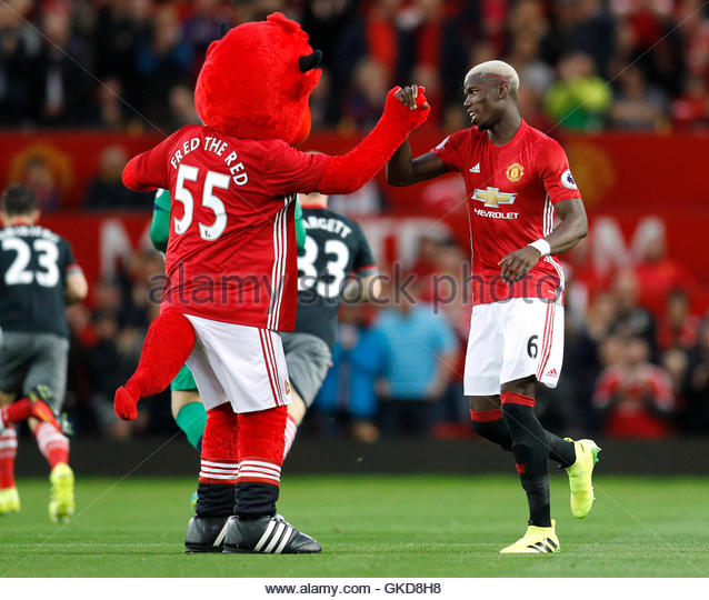 Salford City Mascot: Manchester United Mascot Stock Photos & Manchester United