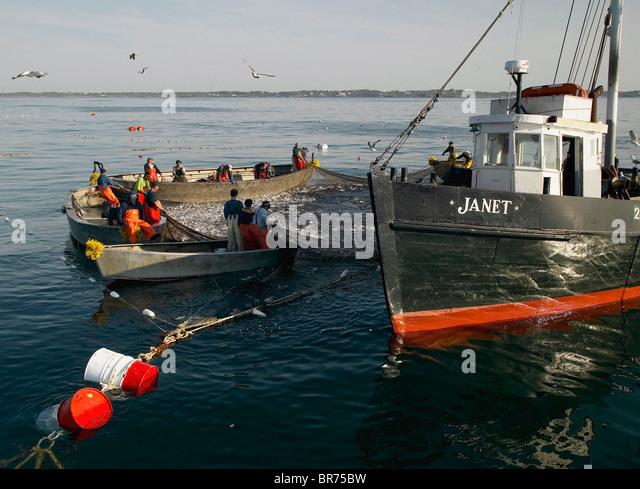 Boats fishing net commercial stock photos boats fishing for Fishing newport ri