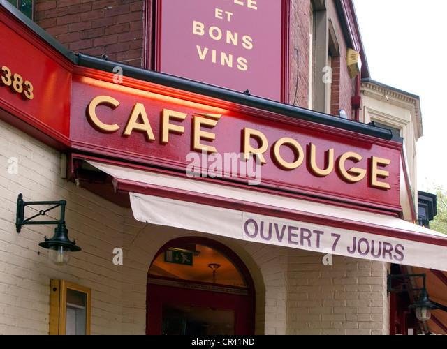 Cafe Rouge Blackheath Menu