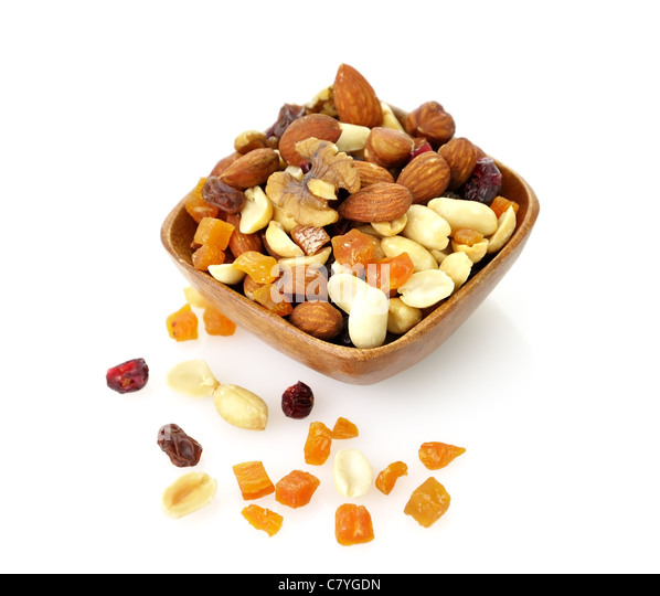 fruit and nut mix healthy healthy fruits