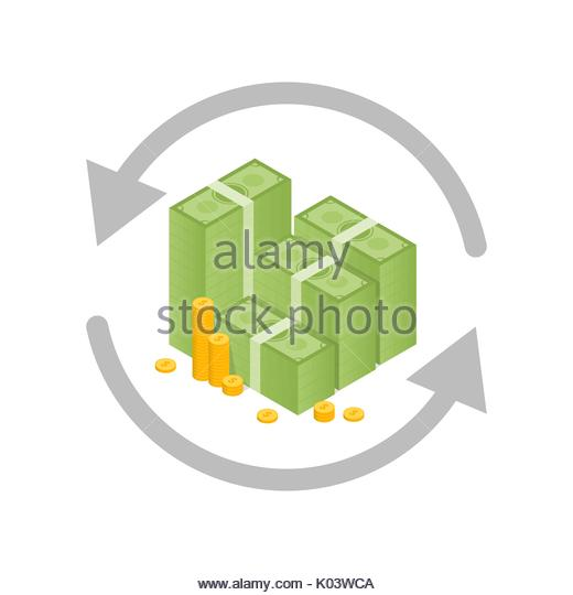 Currency Exchange Rate Vector Logo Stock Photos Currency