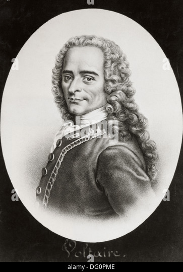 Does anyone know any information about the french author and philosopher, Voltaire?