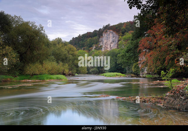 fall danube river stock photos fall danube river stock images alamy. Black Bedroom Furniture Sets. Home Design Ideas