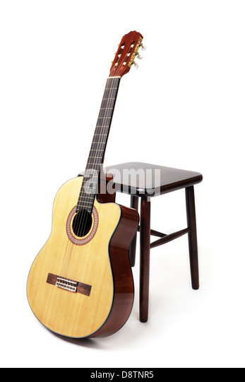 brown wooden stool and a six string guitar  sc 1 st  Alamy & Guitar Stool Stock Photos u0026 Guitar Stool Stock Images - Alamy islam-shia.org