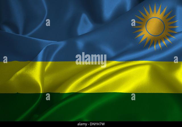 Republic Rwanda Flag Stock Photos Republic Rwanda Flag Stock - Rwanda flag
