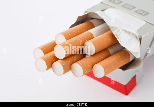 Marlboro cigarettes bleue