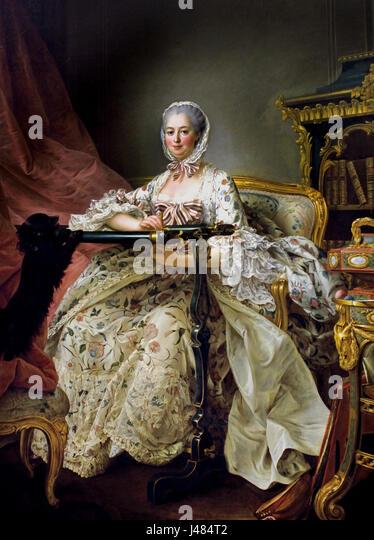 Stupendous Madame De Pompadour Stock Photos Madame De Pompadour Stock Hairstyles For Women Draintrainus