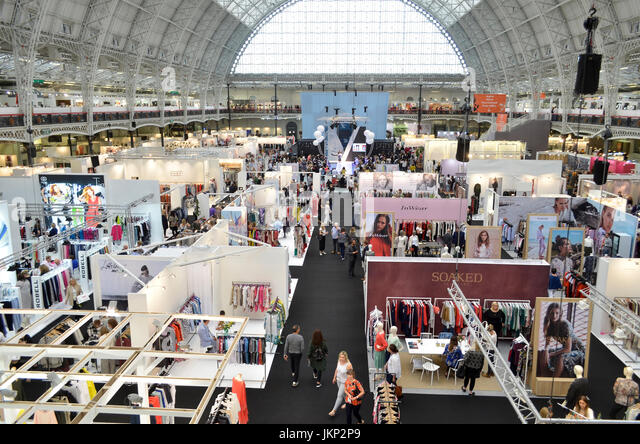 Trade Stands Olympia : London shows stock photos images alamy