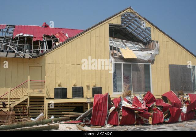 Gulf florida hurricane katrina stock photos gulf florida for Architectural concepts pensacola florida