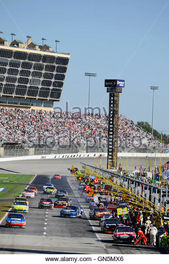 Speedway Atlanta Motor Speedway Stock Photos Speedway