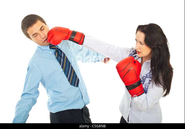 Boxing being a tko business