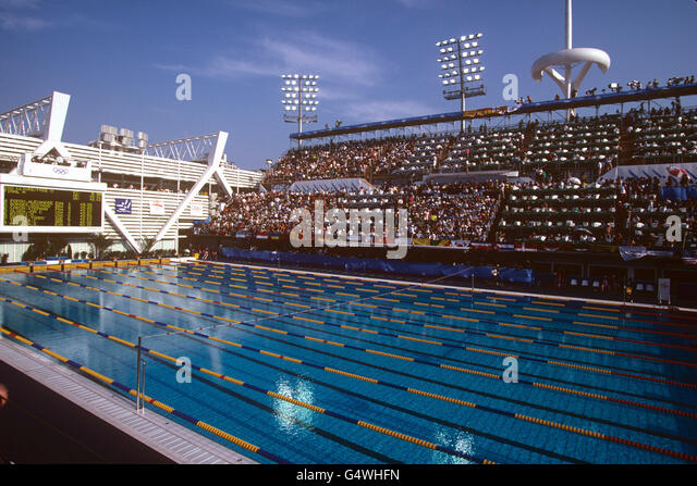 Picornell stock photos picornell stock images alamy for Swimming pool show barcelona