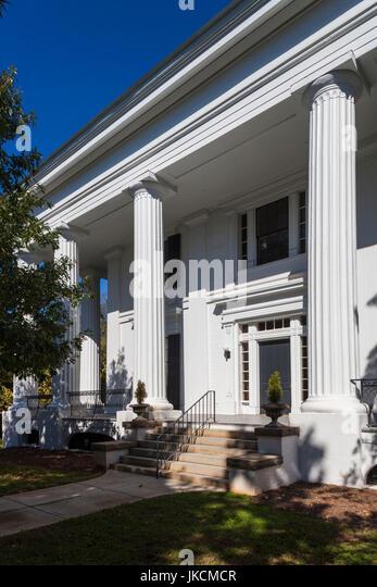 USA, Georgia, Athens, The Taylor-Grady House, Greek Revival-style