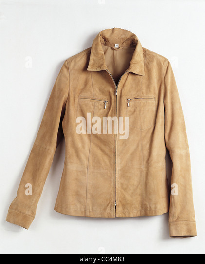 Clothing: Fratelli Rossetti Leather Jacket Stock Photo, Picture