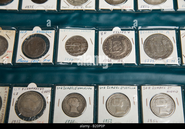 Usa vintage coins from the 1700