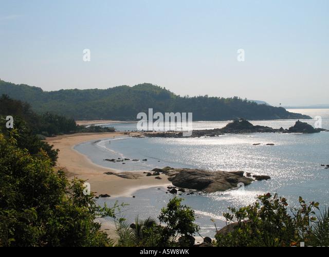 Om Beach Gokarna Karnataka State India