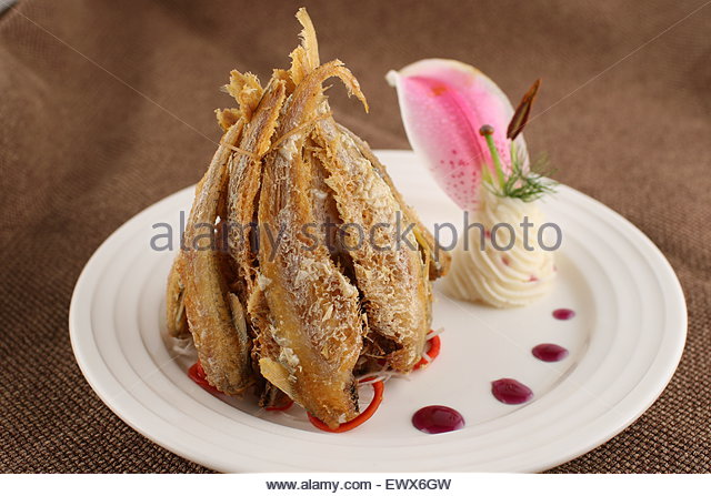 Yellow Croaker Fried