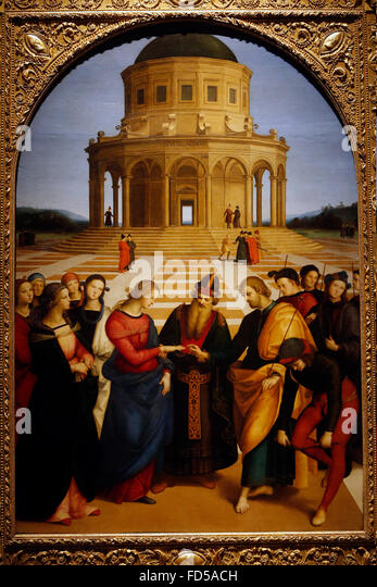 an analysis of the marriage of the virgin by raffaello sanzio See some of the world's most stunning, centuries-old paintings from italian masters including caravaggio and raphael the gallery's collection is housed in a 19th century former monastery.