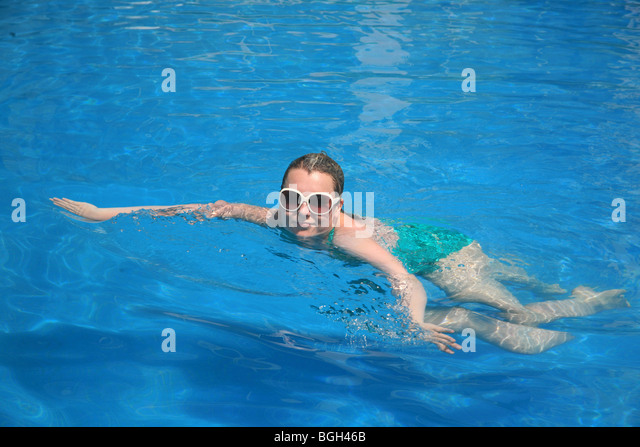 Obese pool swimming overweight stock photos obese pool swimming overweight stock images alamy for Female only swimming pool london