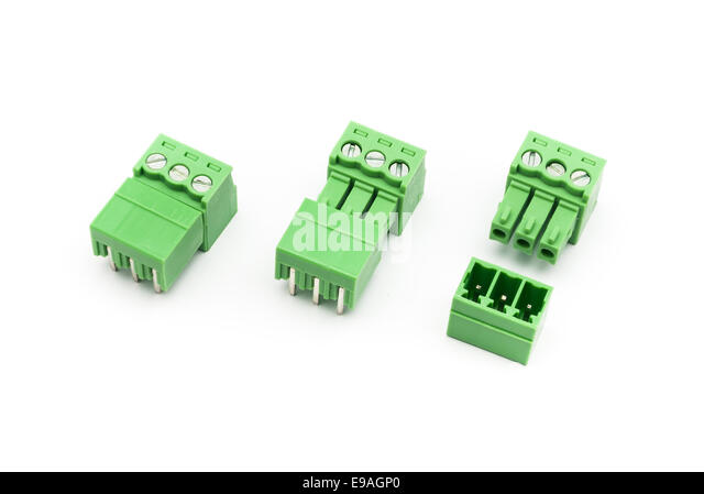 Wire Connector Terminal Block Stock Photos & Wire Connector ...