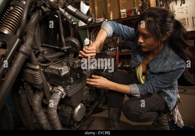 Motorcycle Repair Stock Photos Motorcycle Repair Stock