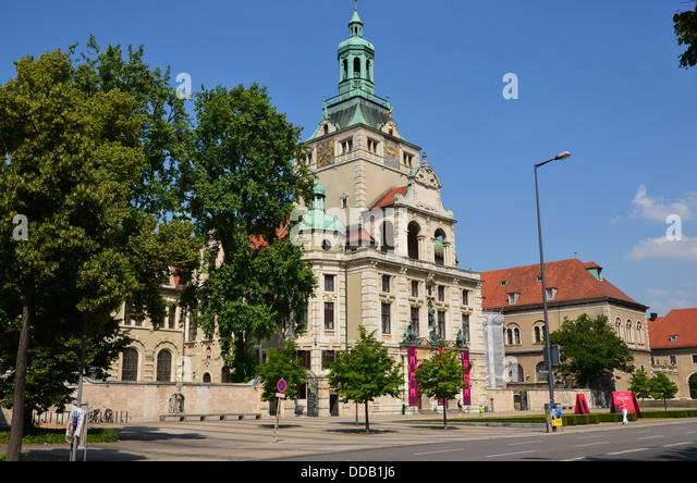 Bayerisches Nationalmuseum Munich Stock Photos
