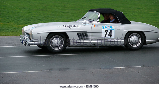 Old mercedes benz stock photos old mercedes benz stock for Mercedes benz sports car convertible