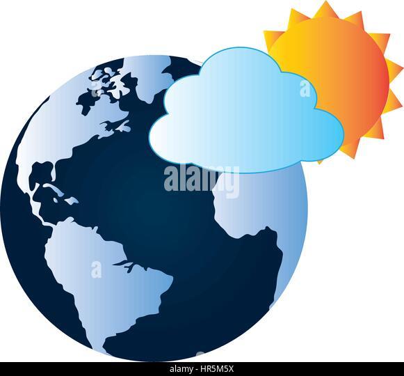 World Planet Earth Map Vector Stock Photos World Planet Earth - World map uncolored