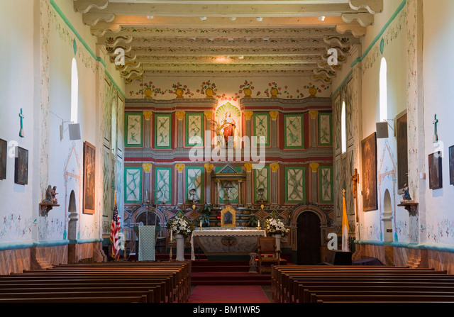 Old Mission Santa Ines Stock Photos & Old Mission Santa Ines Stock ...