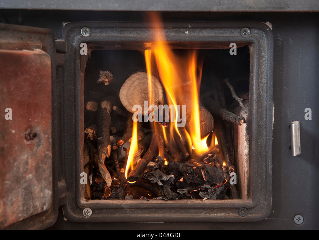 Woodstove Stock Photos Woodstove Stock Images Alamy