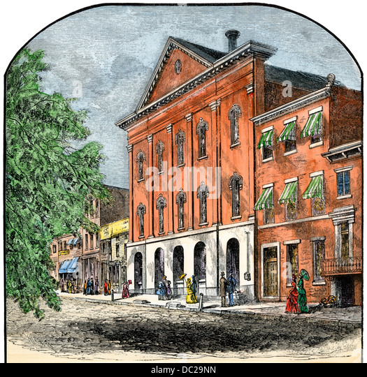 Washington Dc Shooting: Fords Theatre Stock Photos & Fords Theatre Stock Images
