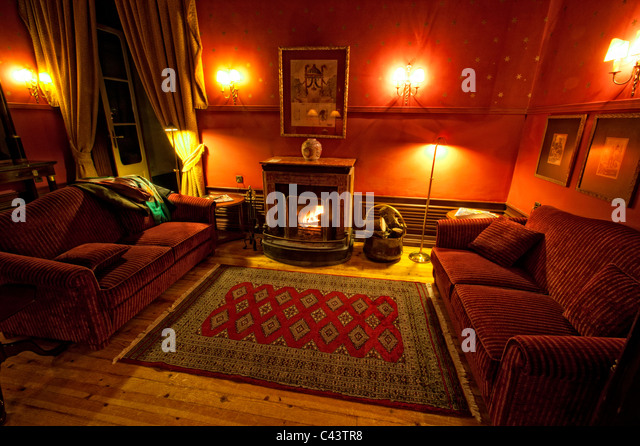 Cosy Interior Fireplace Stock Photos & Cosy Interior Fireplace ...