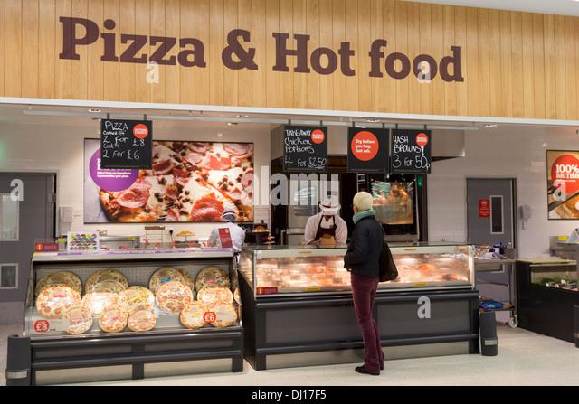 Sainsbury S Hot Food Counter
