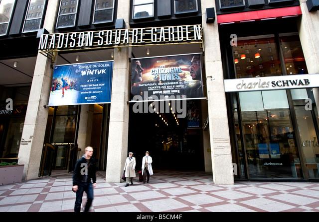 Madison Square Garden Basketball Stock Photos Madison Square Garden Basketball Stock Images