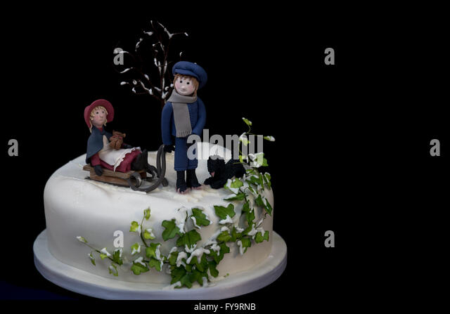 Sugarcraft And Cake Decorating Show : Snow Cake Stock Photos & Snow Cake Stock Images - Alamy