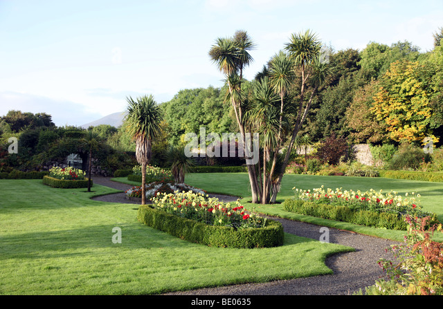 Enniscoe House Gardens, Co. Mayo   Stock Image