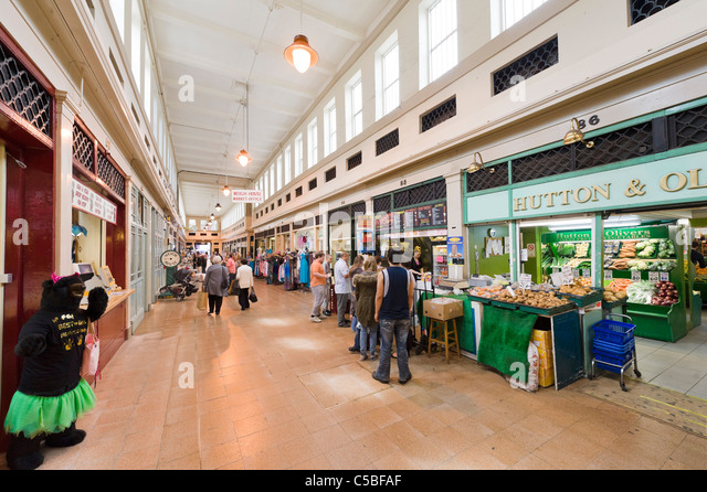 Food Market Newcastle Upon Tyne Stock Photos  Food Market