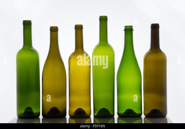 Empty wine bottles stock photos empty wine bottles stock for Empty wine bottles