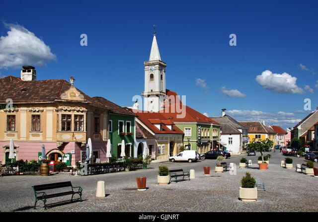 Rust neusiedlersee  Village Rust Neusiedlersee Austria Stock Photos & Village Rust ...