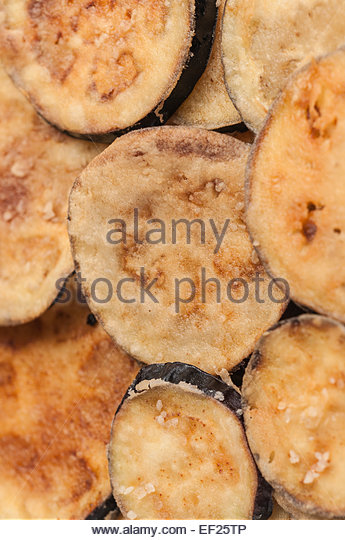 Breaded Fried Eggplant Slices Stock Photos & Breaded Fried ...